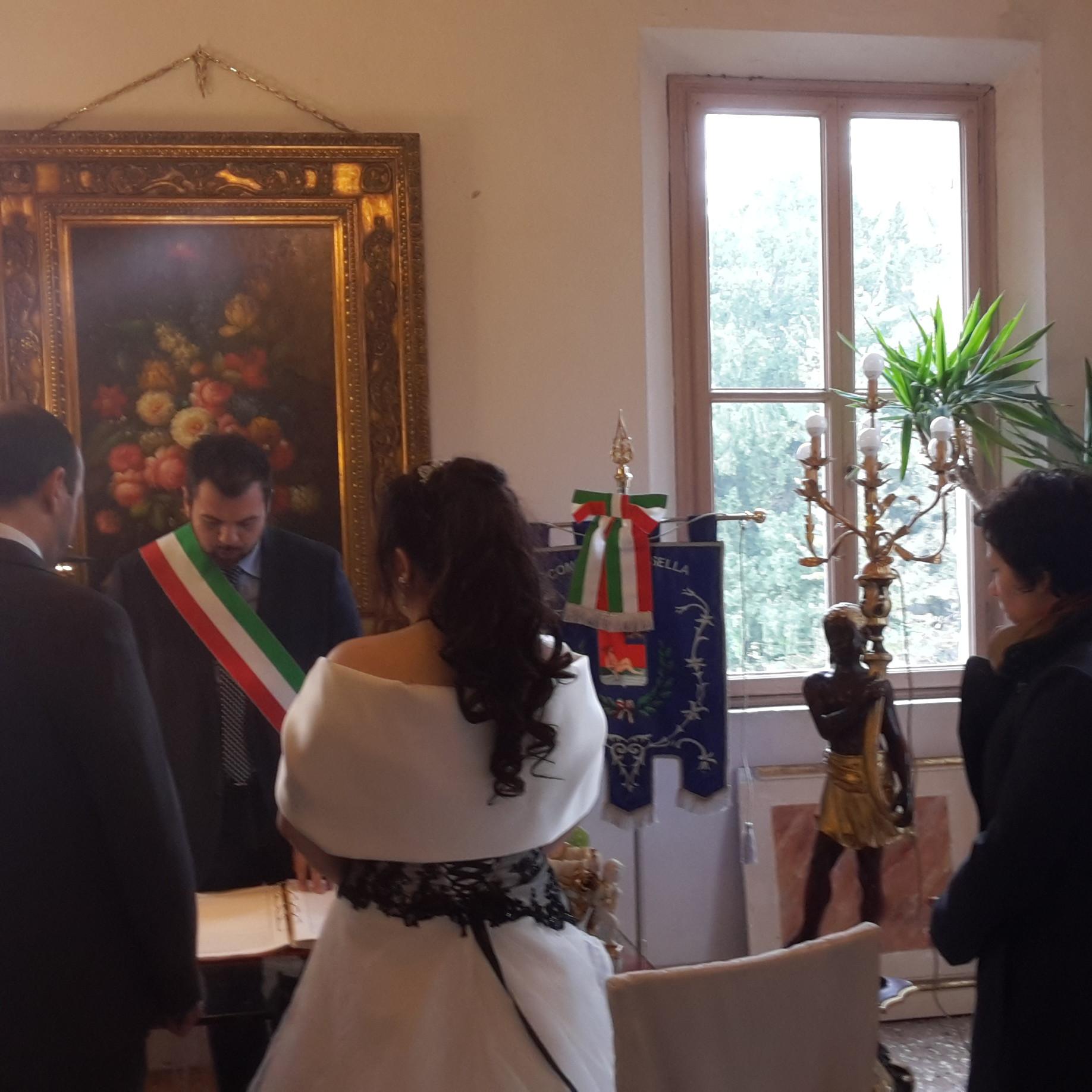 Villa Selmi matrimonio con rito civile Ferrara