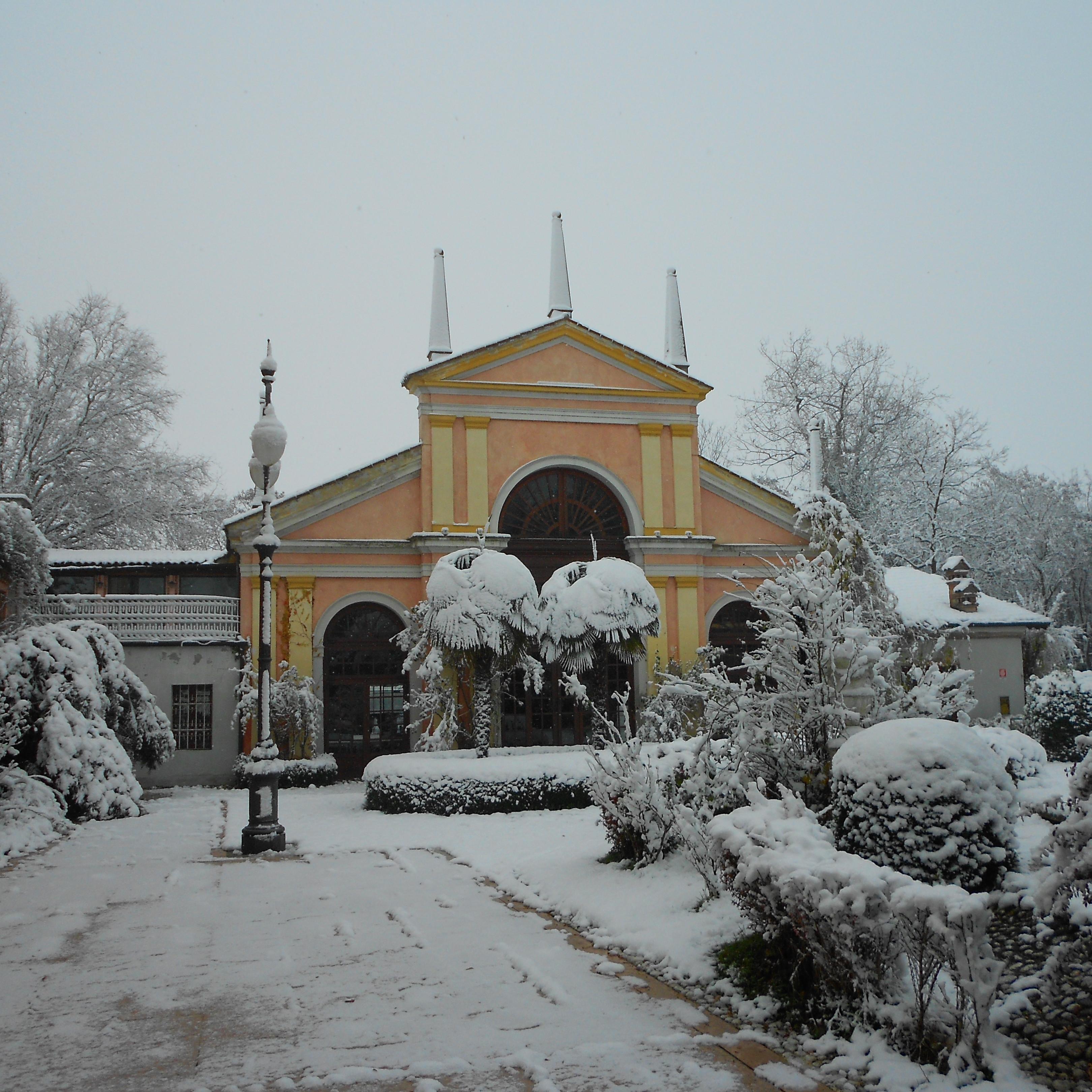 White And Villa Selmi matrimonio in villa Rovigo